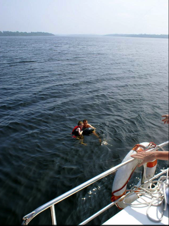 Swimming in Lough Derg