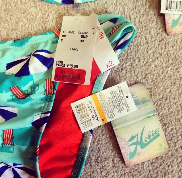 Hobie bikini in TK Maxx