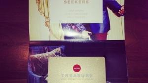 TK Maxx treasure loyalty card