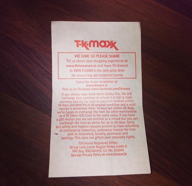 TK Maxx Survey
