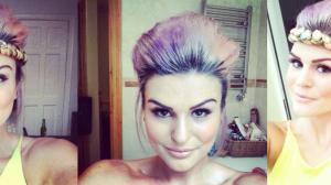 DIY Purple Hair with Eat Sleep Chic Blog