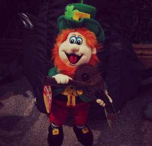 Irish Leprechaun Mascot
