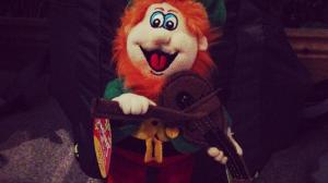 Irish Leprechaun Mascot