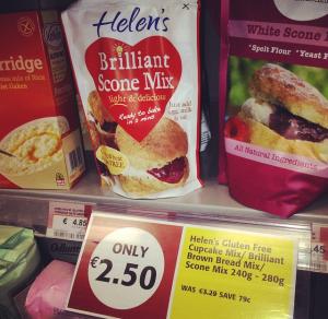 Helen's Gluten Free Scones