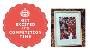 Win a floating frame for mothers day
