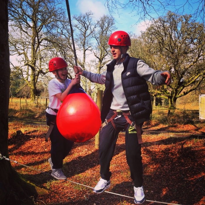 Adventure activities at Kippure estate wicklow