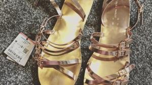 Zara shopping haul gladiator sandals