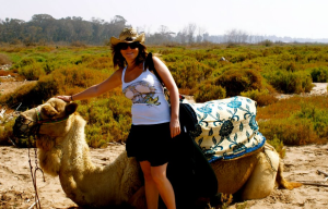Camel ride Agadir to the Souss Estuary
