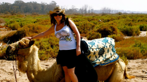 Camel ride Agadir to the Souss Estuary