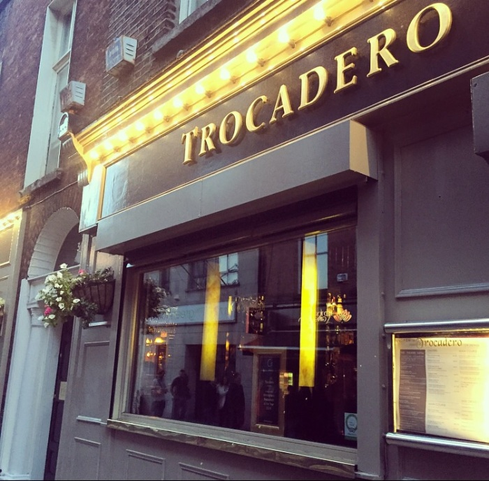 Trocadero restaurant Dublin City zomato review