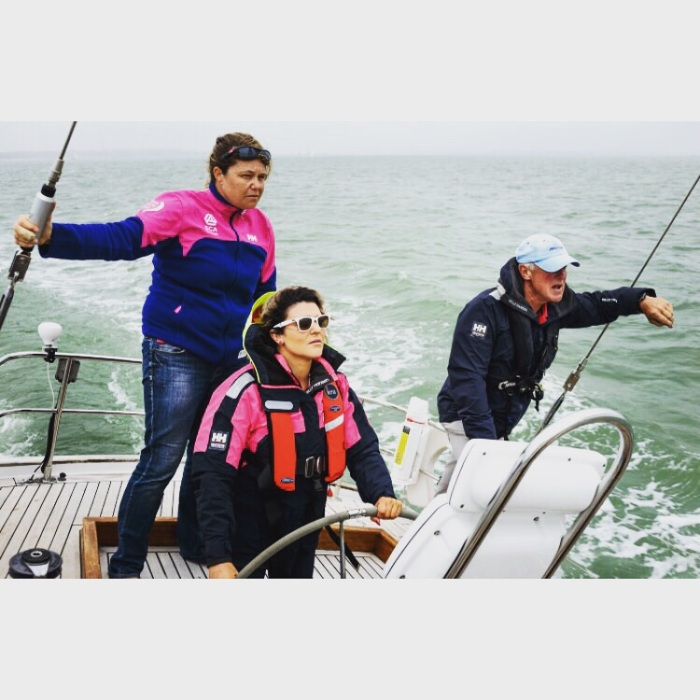 Sally barkow helly hansen cowes week
