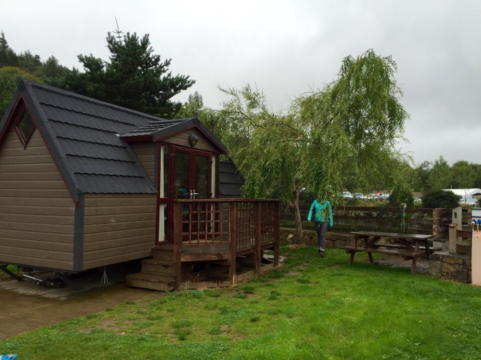 "glamping (""glorified"" camping) lodges hidden valley"