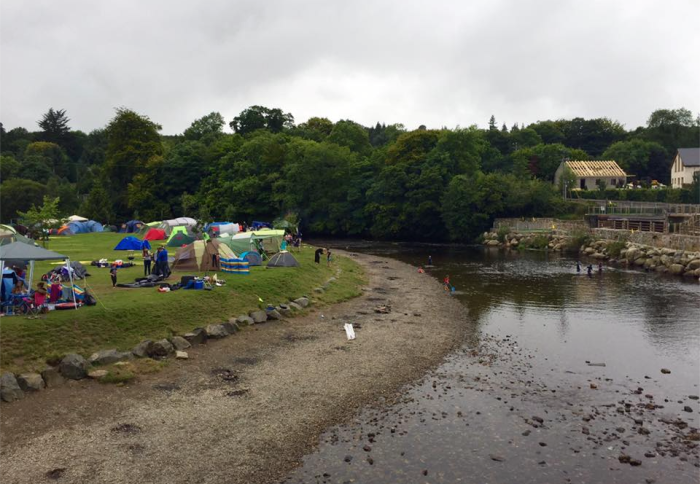 Camping in ireland Hidden Valley Holiday Park, Rathdrum Co. Wicklow